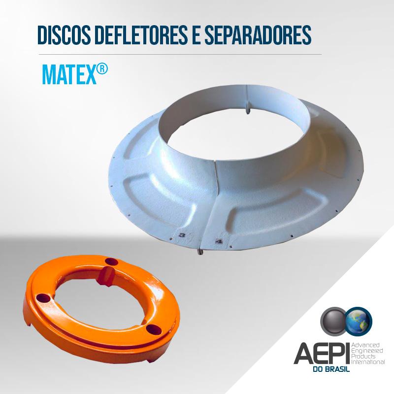 Discos Defletores Separadores