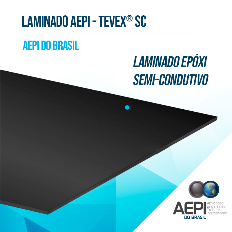 LAMINADO EPÓXI SEMI-CONDUTIVO