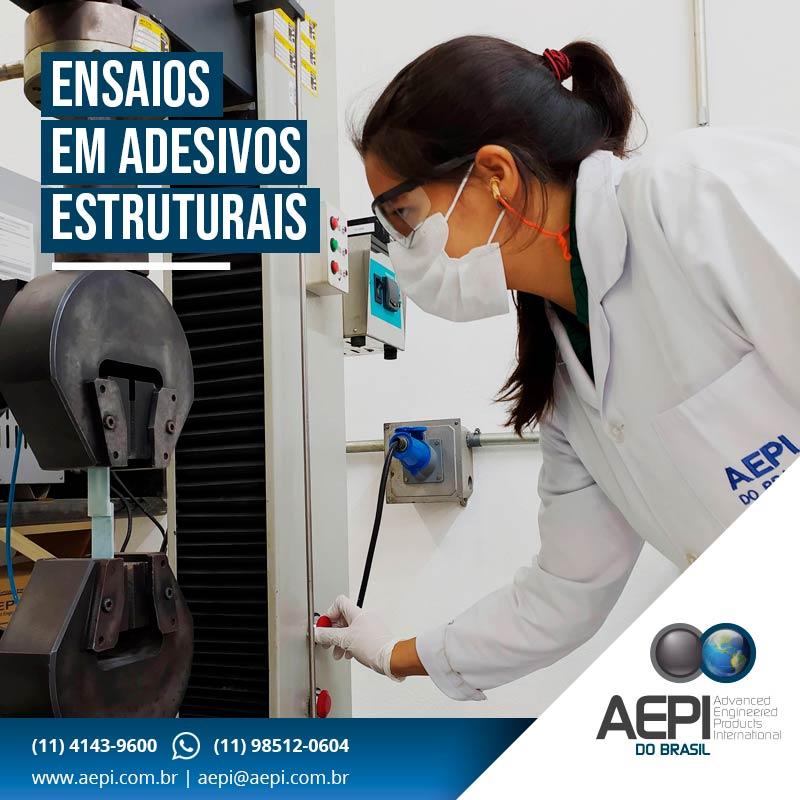 Laboratório: Ensaios em Adesivos Estruturais